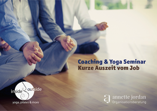 Meditierende Gruppe - Yoga und Coaching